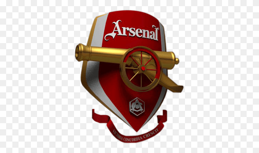official club crest cannon ink arsenal