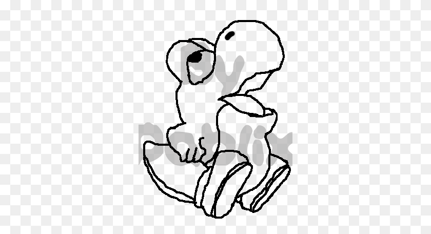 Baby Yoshi Coloring Pages Baby Skeleton Clipart Stunning Free Transparent Png Clipart Images Free Download