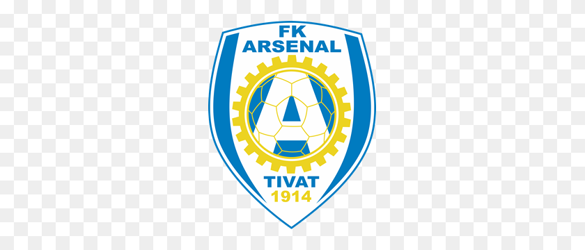 fk arsenal tivat logo vector arsenal