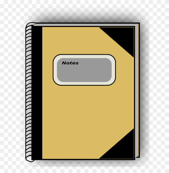 Notebook Clipart Book Cover Notebook Paper Clipart Stunning Free Transparent Png Clipart Images Free Download