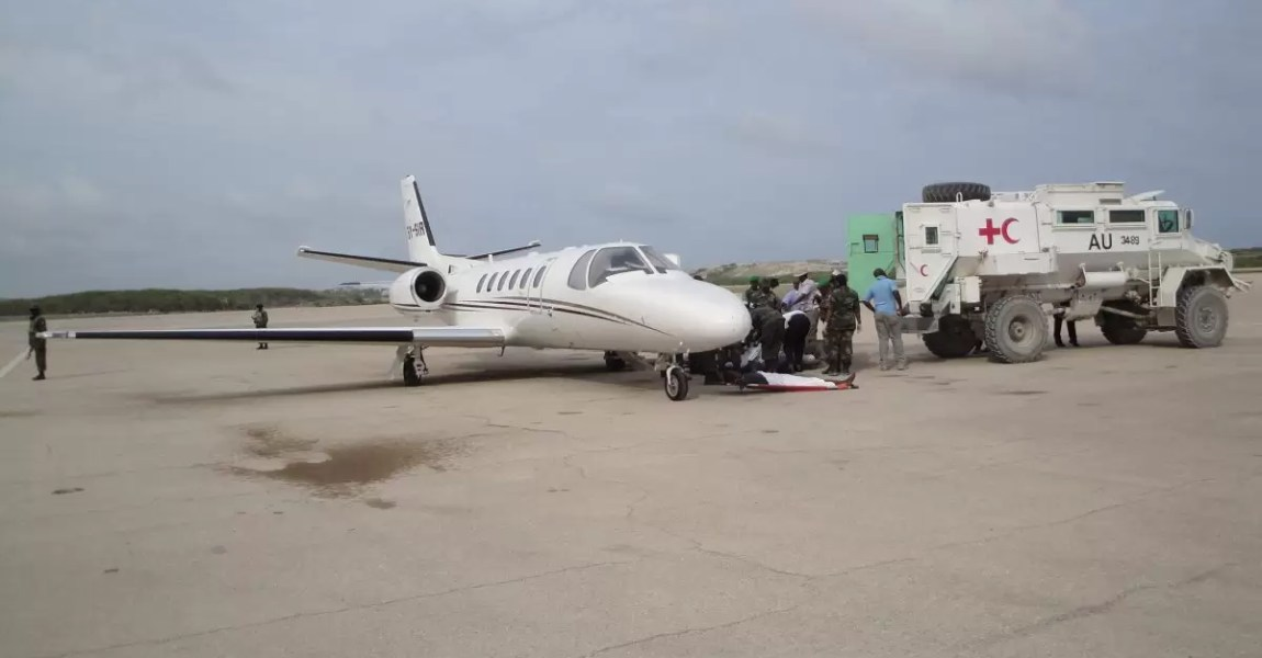 AMREF Flying Doctors bases aircraft in Somalia