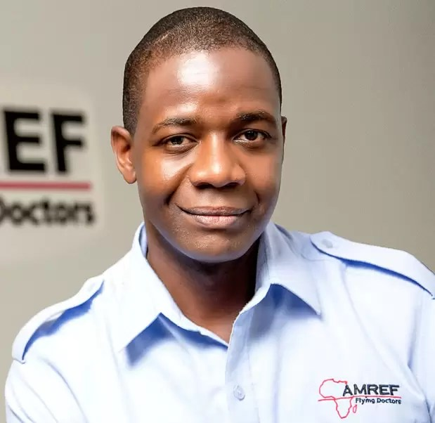 Stephen Ombuya - Amref Flying Doctors