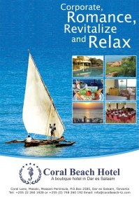 Cporal Beach Hotel Dar es Salaam, Tanzania