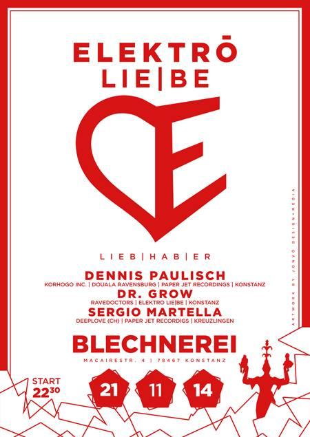 Elektro Liebe – 21.11.14 – Blechnerei KN