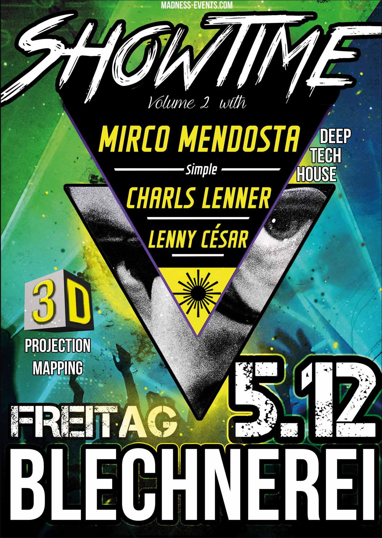 Showtime – Fr.5.12.14 – Blechnerei – Konstanz