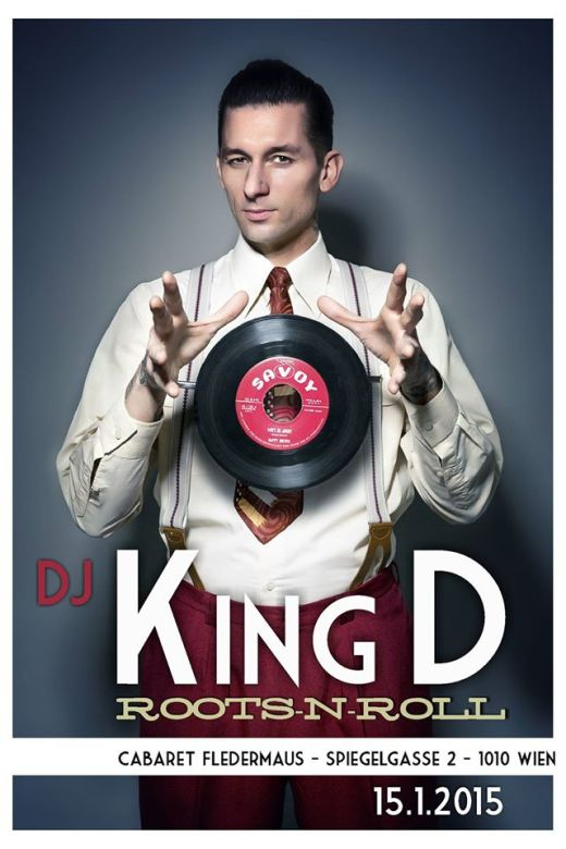 DJ KING D LIVE IM ROXY 04.04.2015