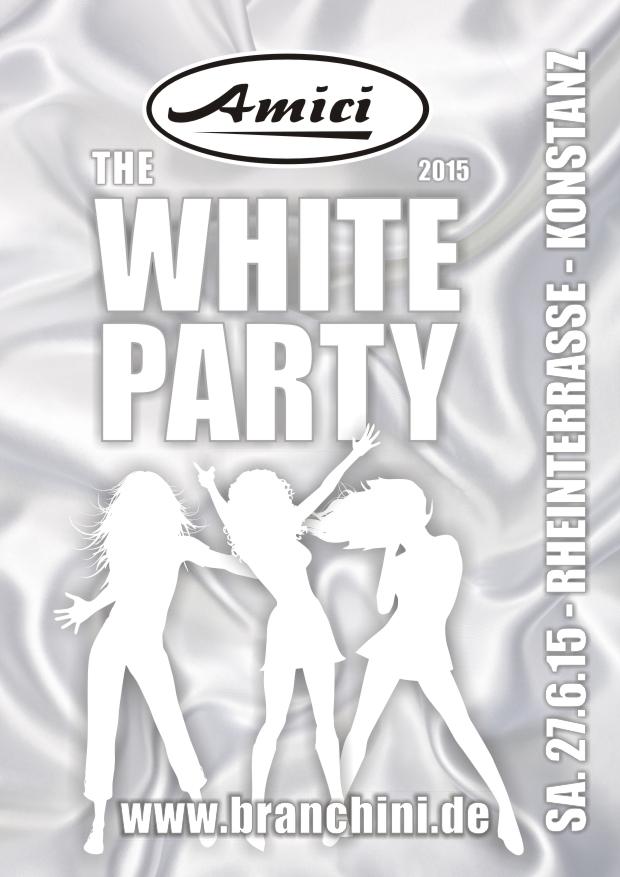 Amici – White Party 2015
