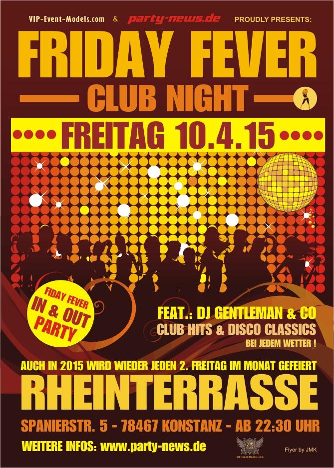 Friday Fever Party – Fr. 13.11.15 – Rheinterrasse – Konstanz