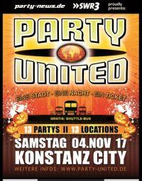 Party-United @ Konstanz. Eine Nacht – Eine Stadt – Ein Ticket