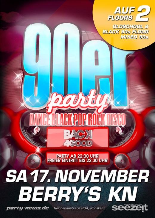 90er Party Back for good!