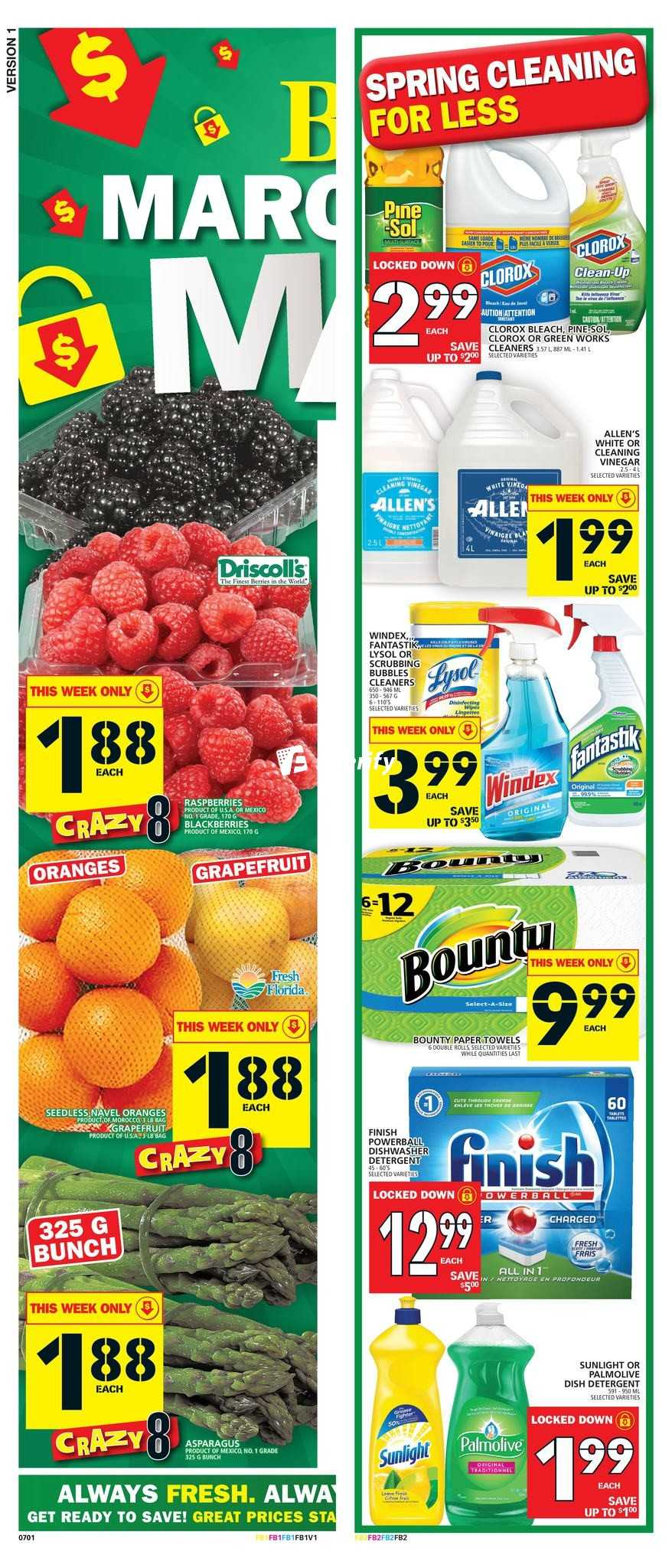 Fresh Grocer Weekly Flyer