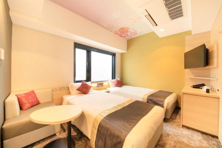 京都二條艾迪斯達酒店 雙床房