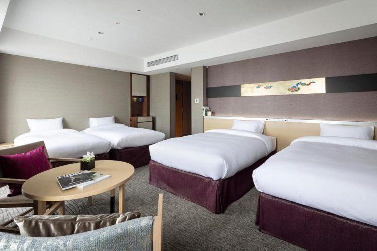 京都十字酒店 豪華家庭房