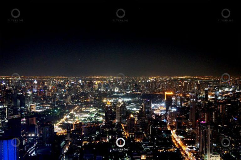 大京都大廈高空走廊 夜景