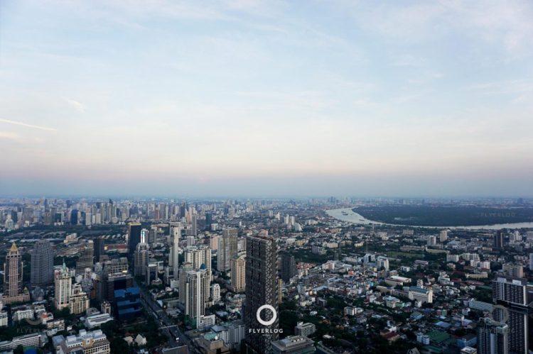 大京都大廈高空走廊 黃昏