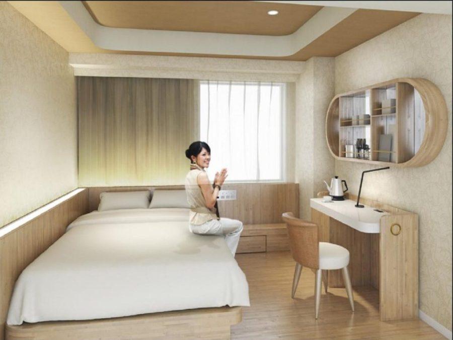 大和皇家酒店D-City - 名古屋伏見 雙人房