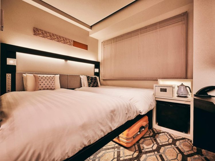 大阪阪神酒店別館 雙床房