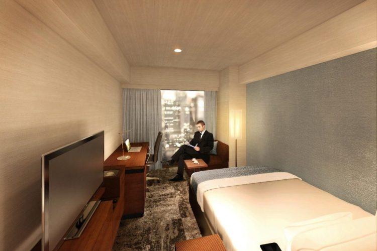 西新宿大和ROYNET酒店 雙人房