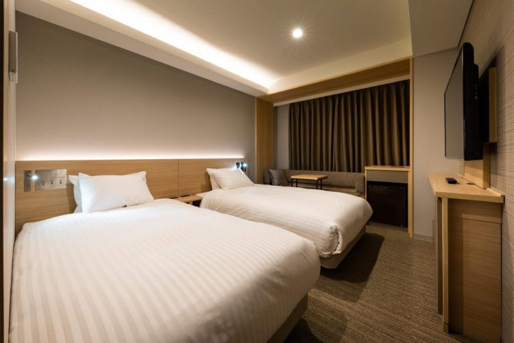 西鐵酒店Croom名古屋 雙床房