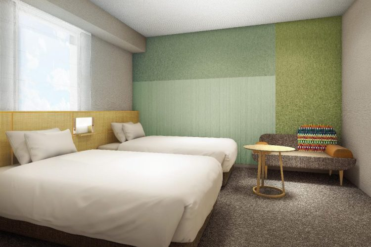 金澤因特蓋特酒店 雙床房