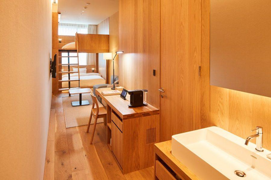 MUJI HOTEL GINZA 雙床房 (Type G)