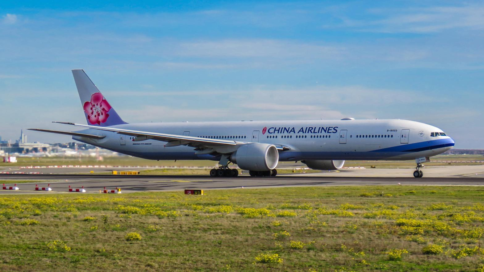 China Airlines B777-300ER.