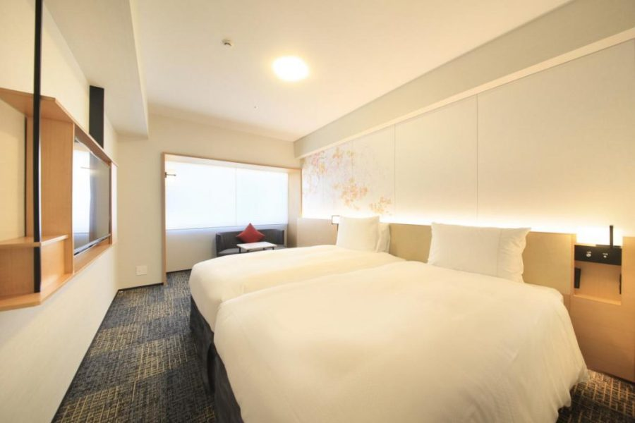 京都站前里士滿酒店普米爾 雙床房