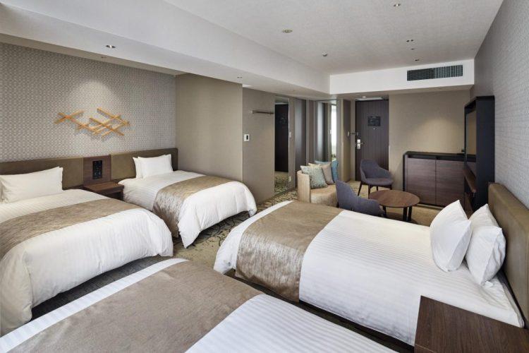 格蘭比亞京都比偲奇酒店 家庭房