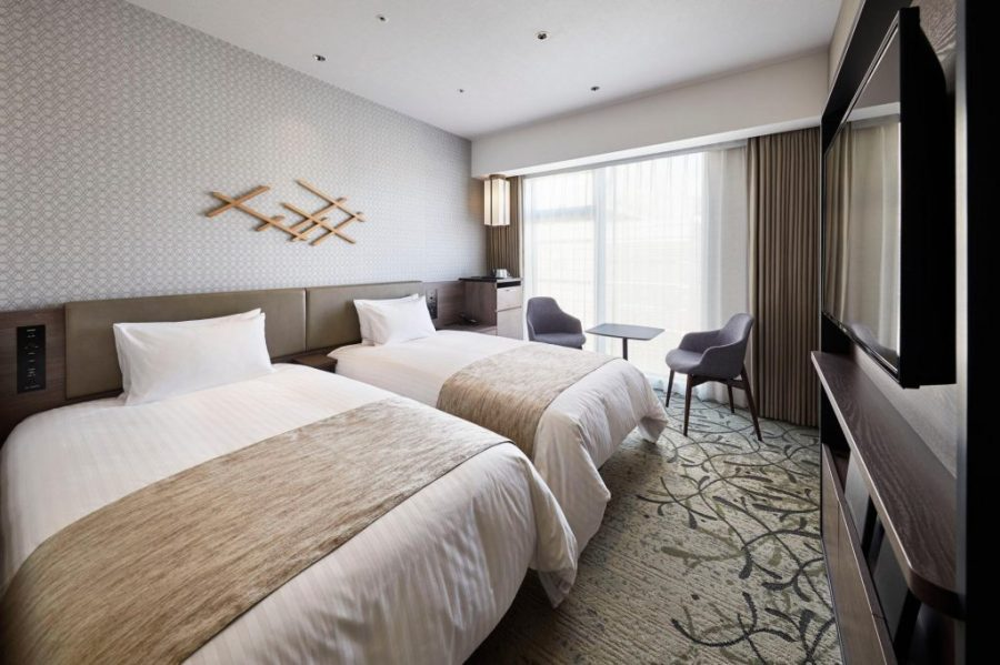 格蘭比亞京都比偲奇酒店 雙床房