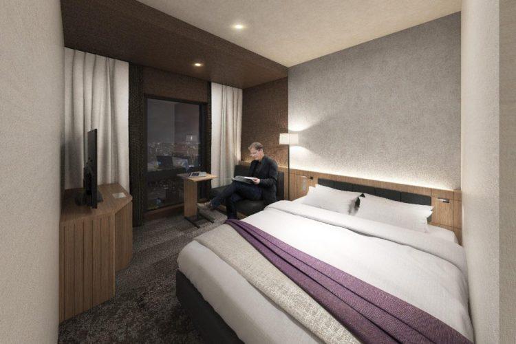 博多冷泉大和ROYNET 酒店 雙人房