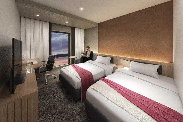 博多冷泉大和ROYNET 酒店 雙床房