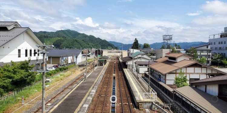 飛驒古川站 - 「你的名字」取材地之一