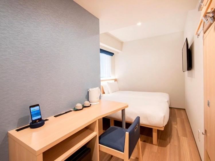 卡拉扎酒店東京站 雙床房