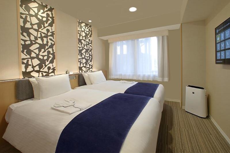 京都東方酒店 藝廊 雙床房