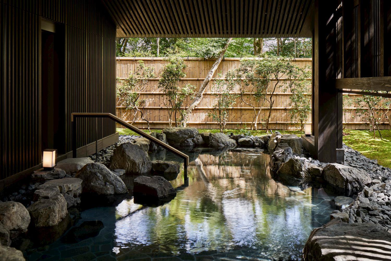 安縵京都 室外溫泉