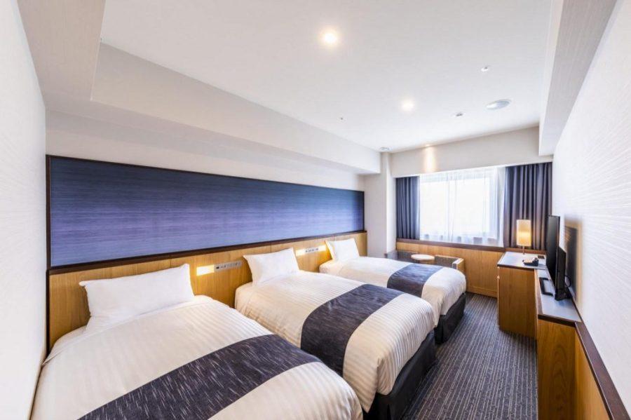 格拉斯麗大阪難波酒店 三人房
