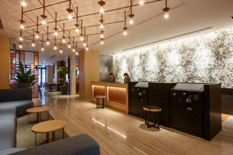 Hotel Forza 大阪北濱 大堂