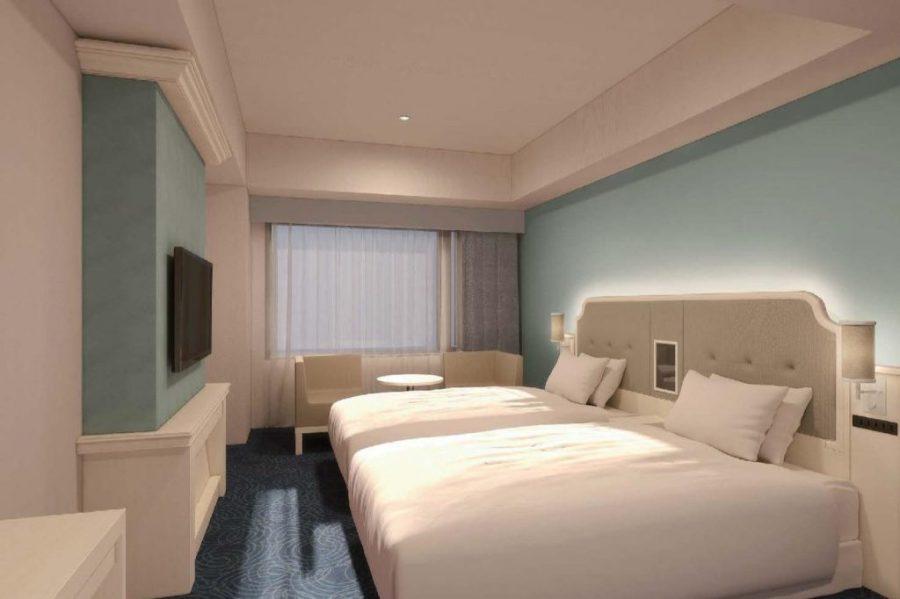 LIBER HOTEL AT UNIVERSAL STUDIOS JAPAN 雙床房