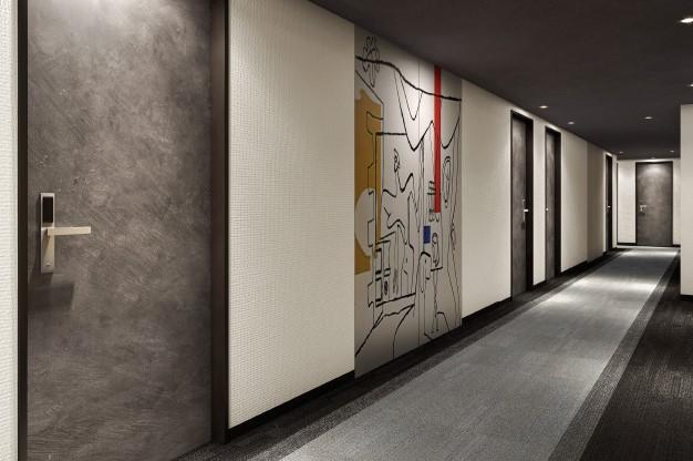 上野 Resol 酒店 走廊