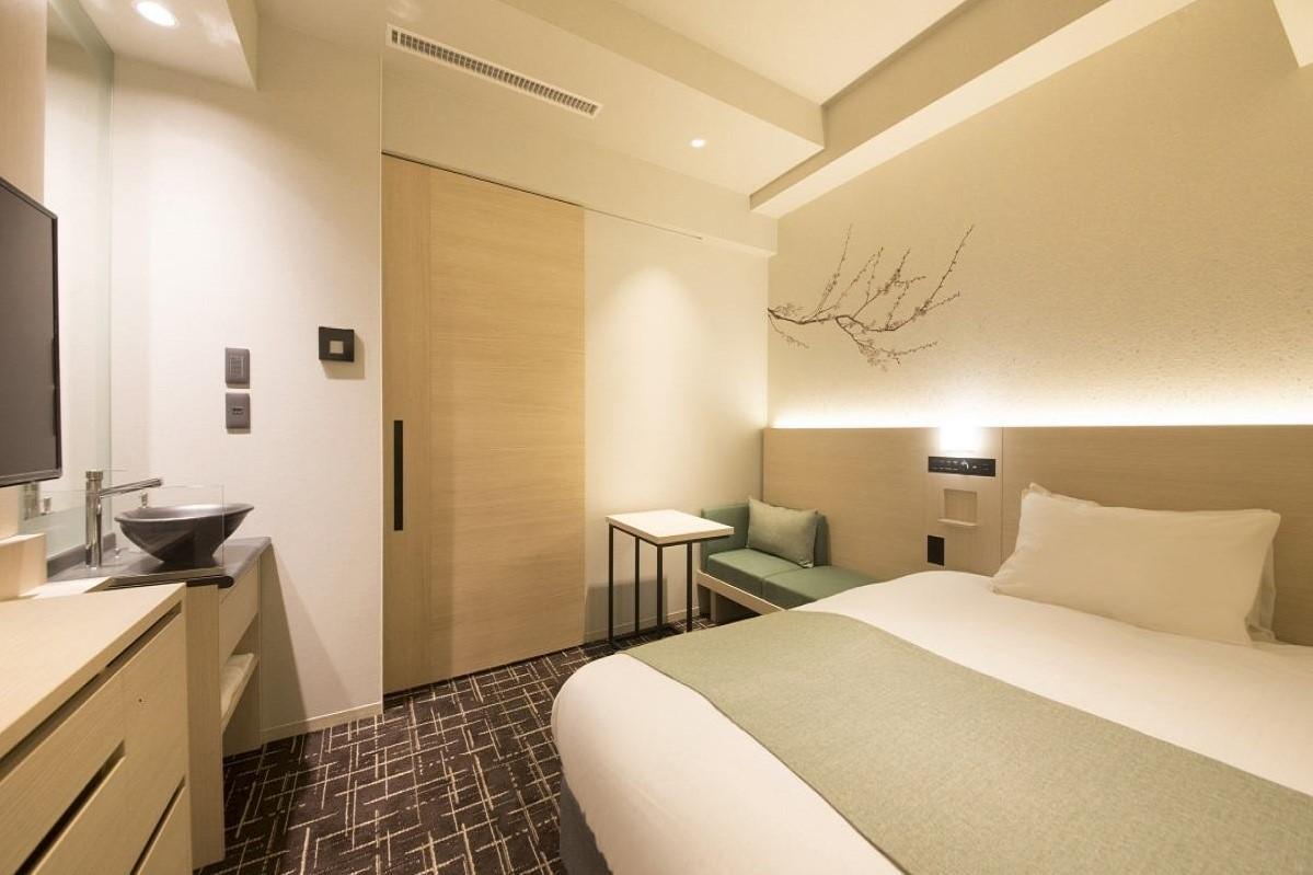 八重翠東京酒店 單人床
