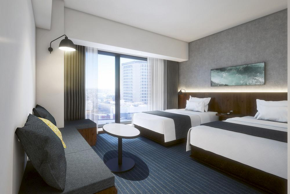 川崎大都會大酒店 雙床房