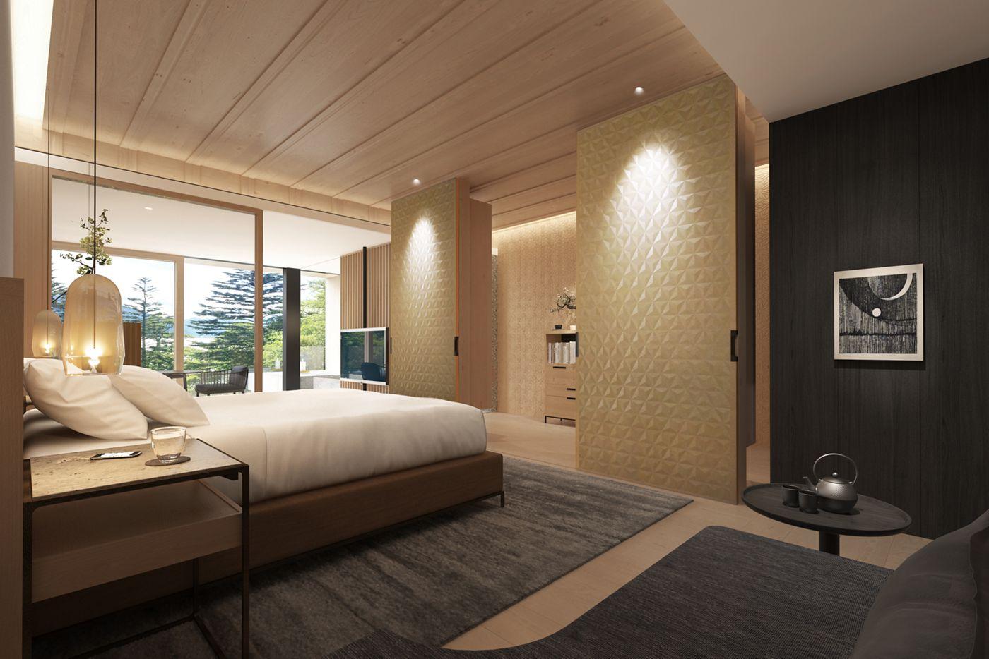 日光麗思卡爾頓酒店 雙人房