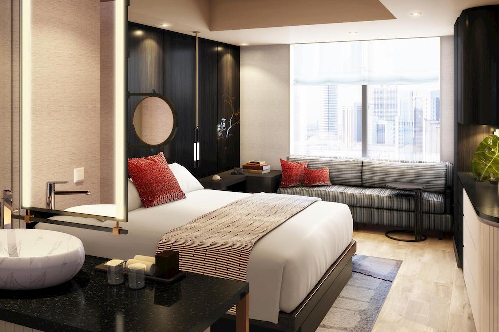 東京新宿金普頓酒店 客房