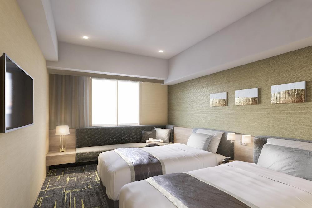 Hotel Villa Fontaine Grand Haneda Airport 雙床房