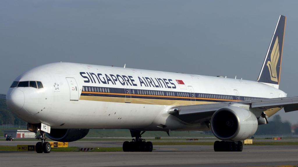 新加坡航空 波音777-300