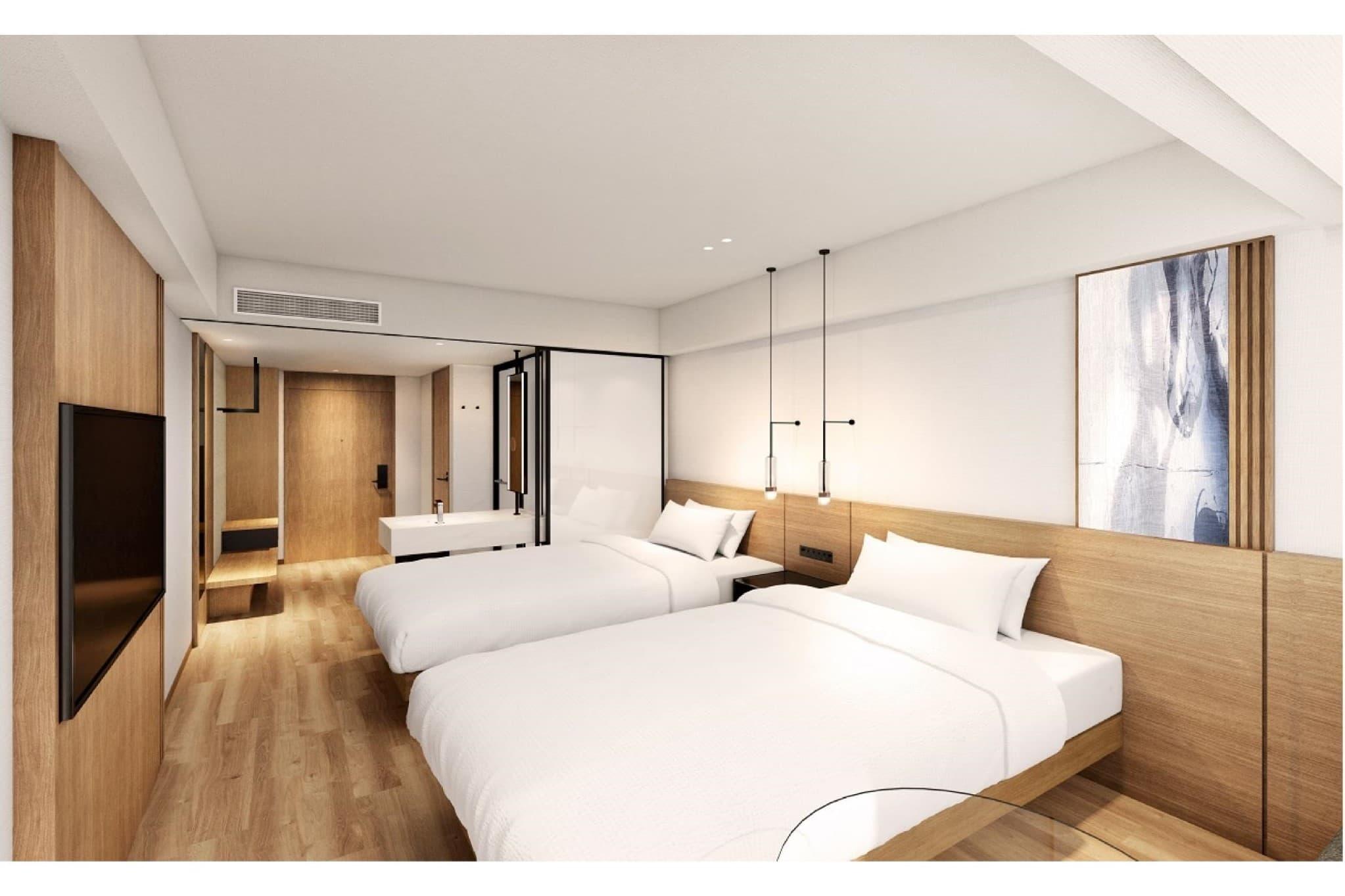 大阪難波萬楓酒店 雙床房