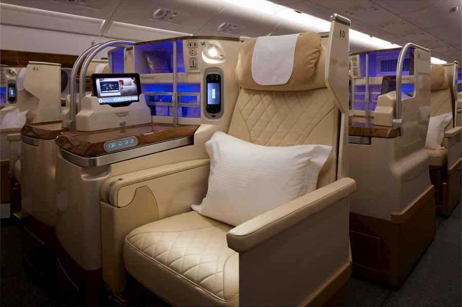 阿聯酋航空 新版商務艙