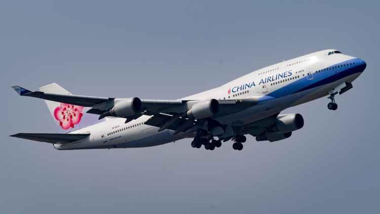 中華航空波音747-400客機-註冊編號 B-18215(Masahiro TAKAGI 攝影)