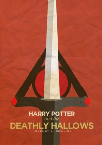 Detail: the Deathly Hallows symbol