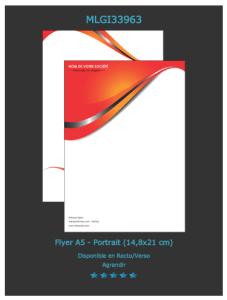 Modèle de flyer personnalisable  parfait pour faire la  publicité de votre commerce en détail. Devis à envoyer en ligne.